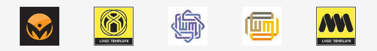 Логотипы из букв
