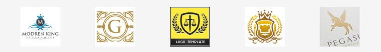 Логотипы с гербом в основе